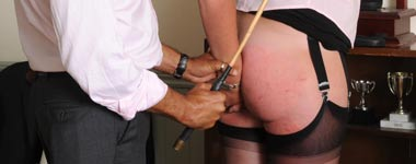 A well caned bottom