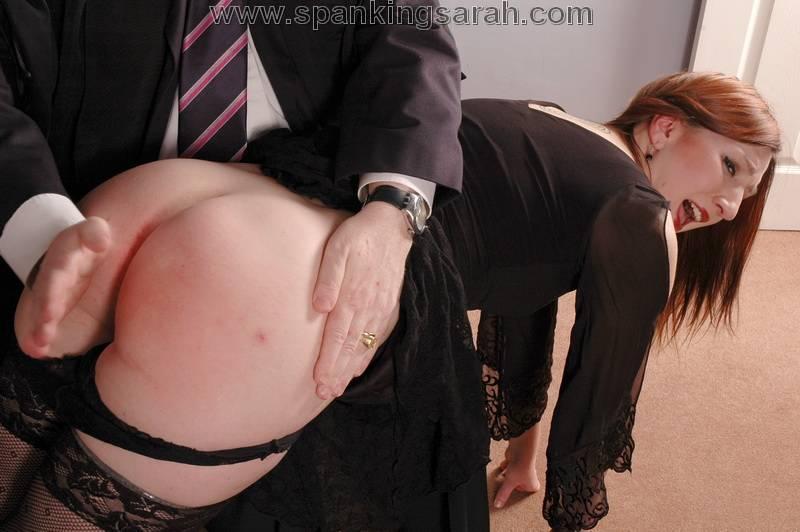 Bent Over Knee Spanking