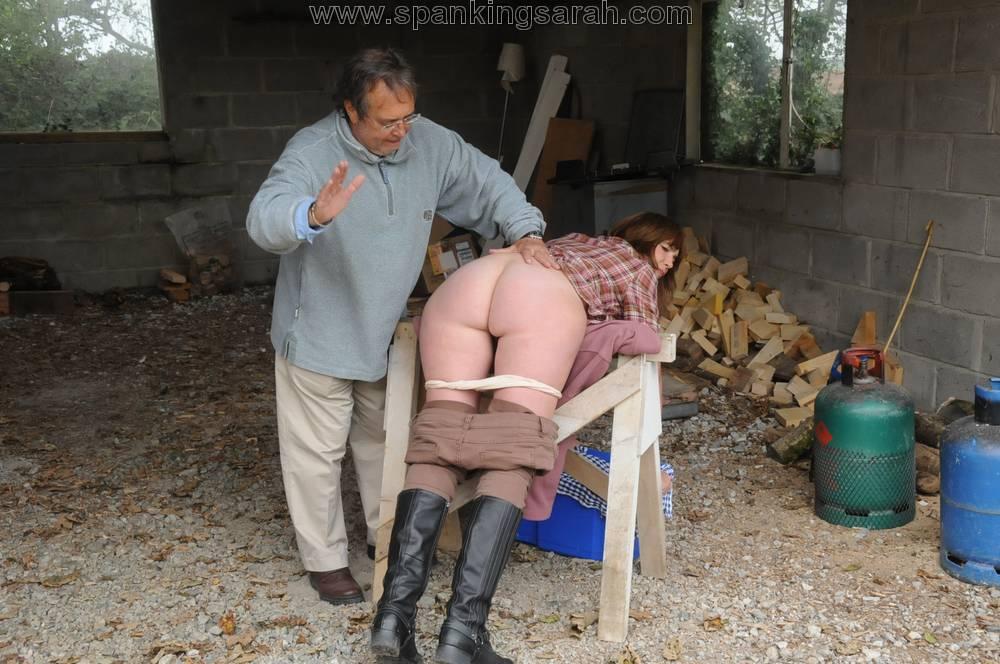 Woodshed spanking videos